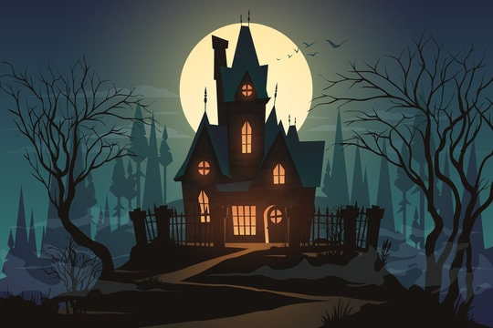 Meet the witch at her haunted cottage